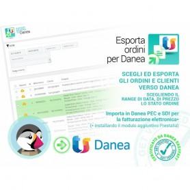 ESPORTA ORDINI DA PRESTASHOP VS DANEA
